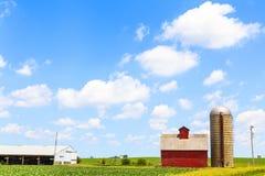 Amerikanisches Ackerland Lizenzfreies Stockfoto