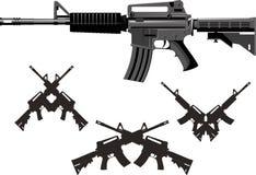 Amerikanisches Angriffs-Gewehr Lizenzfreies Stockbild
