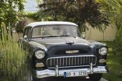 Amerikanisches Auto von Jahr fünfzig stockbild