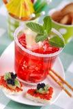 Amerikanisches Cocktail stockfoto