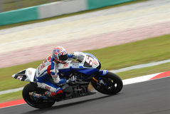 Amerikanisches Colin Edwards Fiat Yamaha Team Polin 2007 Stockfotos