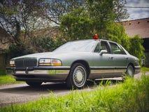 Amerikanisches Detektivauto Stockfotografie