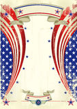 Amerikanisches festliches Plakat Lizenzfreie Stockfotografie