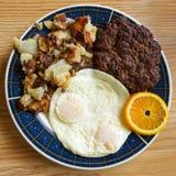 Amerikanisches Frühstück Lizenzfreie Stockfotos