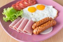 Amerikanisches Frühstück stockbilder