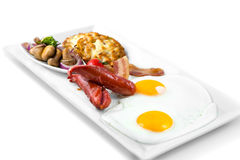 Amerikanisches Frühstück Lizenzfreies Stockbild