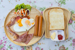 Amerikanisches Frühstück Lizenzfreie Stockbilder