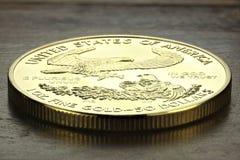 Amerikanisches Gold Eagle Lizenzfreies Stockfoto