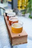 Amerikanisches Handwerks-Bier Lizenzfreies Stockbild