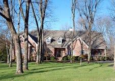 Amerikanisches Haus auf bewaldetem Lot 46 Lizenzfreies Stockfoto