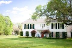 Amerikanisches Haus: Südlich-Art Villa Stockfotos