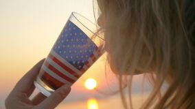 Amerikanisches Leben des Geschmacks stock video