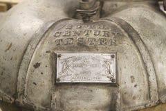 Amerikanisches Museums-Antiken-Milchprüfgerät Stockfotos