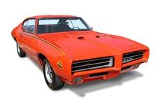 Amerikanisches Muskel-Auto GTO- lokalisiert Stockbilder
