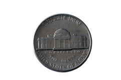 Amerikanisches Nickel Lizenzfreies Stockbild
