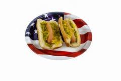 Amerikanisches Picknick Stockfoto