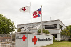 Amerikanisches rotes Kreuz in Dallas Lizenzfreies Stockfoto