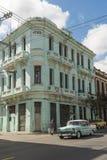 Amerikanisches 50s Auto der Weinlese Havana Lizenzfreie Stockfotografie