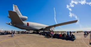 Amerikanisches Strahlenflugzeug der Ergänzung KC-10 Lizenzfreie Stockfotografie
