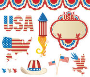 Amerikanisches symbolics Lizenzfreies Stockbild