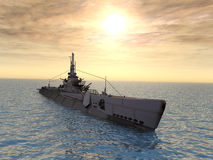 Amerikanisches Unterseeboot Lizenzfreies Stockbild