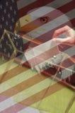 Amerikanisches Wahl-Konzept Lizenzfreies Stockbild