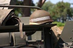 Amerikanisches WWII Militär führt einzeln auf Lizenzfreie Stockbilder