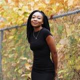 Amerikansk afrikansk kvinna Arkivfoton