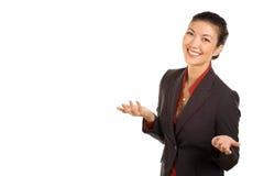 amerikansk asiatisk affärskvinna Fotografering för Bildbyråer
