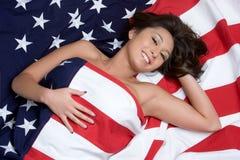 amerikansk asiatisk flicka royaltyfri bild