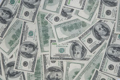 amerikansk bakgrund fakturerar dollar hundra Arkivbild