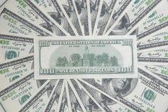 amerikansk bakgrund fakturerar dollar hundra Arkivfoton