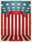 amerikansk bakgrund fjärde juli stock illustrationer