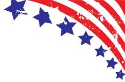 amerikansk bakgrundsflagga vektor illustrationer