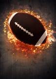 amerikansk bakgrundsfotboll Arkivbild