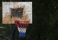 amerikansk basket Arkivbild