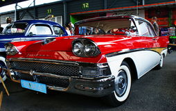 amerikansk bil Fotografering för Bildbyråer