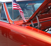 amerikansk bilclassic Arkivbild