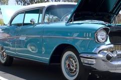 amerikansk bilkromclassic royaltyfri fotografi