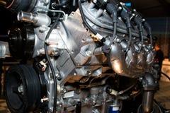 Amerikansk bilmotor för hög kapacitet Arkivfoto