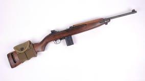 amerikansk carbine m1 Fotografering för Bildbyråer