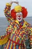 Amerikansk clown Arkivbild