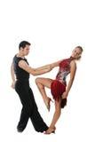 amerikansk danslatin Arkivfoto