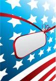 amerikansk designflagga Royaltyfri Foto