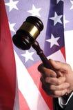 Amerikansk domstol Royaltyfri Foto