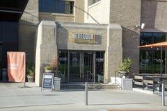 Amerikansk Eatery för grannhuset, Memphis, Tennessee arkivbilder