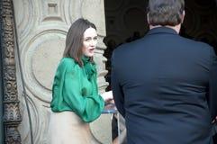 amerikansk emily för aktris mortimer Arkivfoto