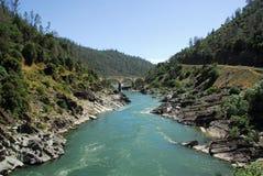 amerikansk flod Royaltyfri Foto