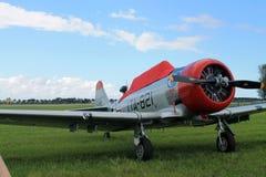 Amerikansk flygvapenkämpe för gammal kämpe Royaltyfri Bild