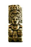 amerikansk forntida indisk totem Royaltyfria Bilder